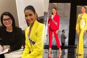 Thi phỏng vấn không cần thông dịch, Hoàng Thùy rạng rỡ tập luyện cho Bán kết Miss Universe 2019