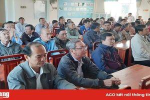 Đoàn Đại biểu Quốc hội tỉnh tiếp xúc cử tri xã Thạnh Mỹ Tây
