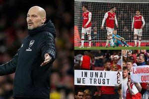 Arsenal thua bạc nhược Brighton, HLV Freddie Ljungberg sắp bay ghế?