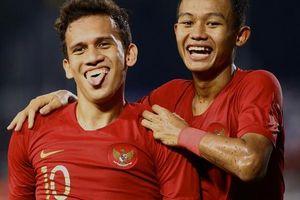Thắng thót tim Myanmar, Indonesia chờ U22 Việt Nam ở chung kết SEA Games 30