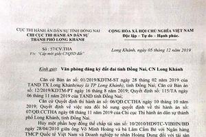 Vụ 'Ngân hàng VIB không thi hành án': Có quyết định cưỡng chế, vẫn không chấp hành!