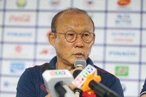 HLV Park Hang-seo tiết lộ thủ môn trận U22 Việt Nam gặp U22 Campuchia?
