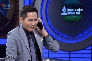BLV Quốc Khánh chính thức xin lỗi thủ môn Bùi Tiến Dũng trên sóng truyền hình