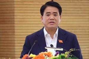 Ông Nguyễn Đức Chung trả lời cử tri về công nghệ làm sạch sông Tô Lịch của Nhật Bản