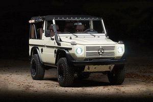 Mercedes-Benz G-Class vứt xó 28 năm, 'lột xác' hết 2,13 tỷ đồng