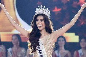 Kết quả chung kết Hoa hậu Hoàn vũ 2019: Khánh Vân khóc khi được xướng tên