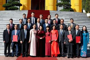 Những gương mặt Đại sứ mới của Việt Nam vừa được Chủ tịch nước bổ nhiệm