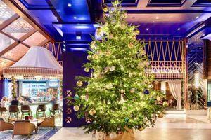 'Khoác lên mình' trang sức 15 triệu USD, đây là cây thông Noel đắt nhất thế giới