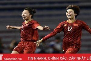 Hạ Thái Lan, ĐT nữ Việt Nam lần thứ 6 giành HCV SEA Games