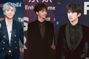 Thảm đỏ Tencent Music Entertainment Award 2019: TFBoys trở thành tâm điểm, Trần Lập Nông - Lưu Vũ Ninh so vẻ điển trai