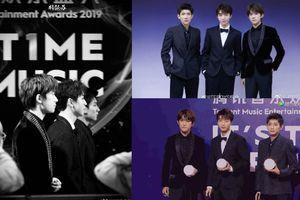 Đằng Tấn 'chọc tức' Iqiyi, Dịch Dương Thiên Tỉ tự tin nói TFBoys là điểm sáng của 'Tencent Music Entertainment Awards 2019'