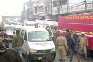 Ấn Độ: Cháy nhà 4 tầng khiến nhiều người chết
