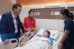 Xót xa nữ tuyển thủ Việt Nam nhập viện cấp cứu vì kiệt sức