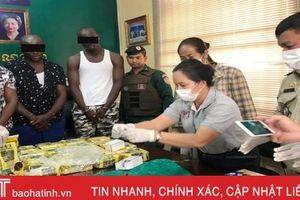 6 nghi phạm người Việt bị bắt cùng gần 100kg ma túy đá ở Campuchia