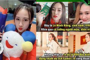 Lê Minh Hằng - VĐV đấu kiếm đẹp nhất SEA Games 30 khiến nhiều chàng trai thất vọng