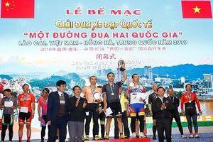 Giải đua xe đạp Quốc tế Lào Cai thành công tốt đẹp