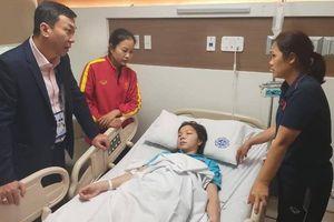Nữ tuyển thủ Việt Nam phải cấp cứu vì kiệt sức sau khi vô địch SEA Games 30