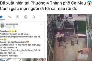 Triệu tập cô gái tung tin đồn người ăn xin mặt đen xuất hiện tại Cà Mau để 'câu like'