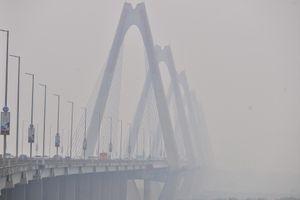 Không khí tại Hà Nội ở mức nguy hại sáng nay