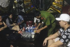 Công an TP Tam Kỳ kiểm tra, phát hiện nhiều đối tượng sử dụng ma túy tại các quán karaoke