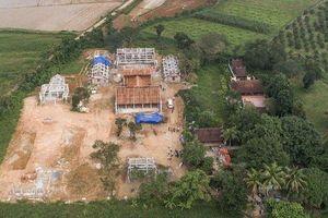 Công trình chùa xây dựng trái phép: Yêu cầu kiểm điểm làm rõ trách nhiệm của cá nhân, tổ chức