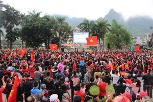 Hà Giang: Màn hình khủng ở quảng trường cho CĐV xem chung kết U22 Việt Nam – U22 Indonesia