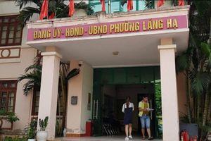 Hà Nội: UBND phường Láng Hạ nghiêm túc tiếp thu và xử lý thông tin Báo Pháp luật Việt Nam phản ánh