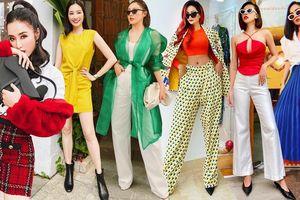 Street style rực rỡ, mang đậm cảm hứng Giáng Sinh của mỹ nhân Việt