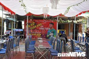 Nhà thủ môn Văn Toản dựng rạp, làm 30 mâm cơm cổ vũ U22 Việt Nam chung kết SEA Games 30