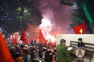 Xử lý nhiều đối tượng đốt pháo sáng ăn mừng tuyển U22 Việt Nam giành HCV SEA Games