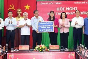 Hà Nội và Sóc Trăng tăng cường hợp tác trên các lĩnh vực