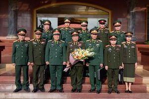 Báo Quân đội nhân dân Lào thăm, làm việc với một số cơ quan đơn vị tại Việt Nam