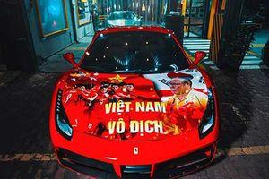 Dàn siêu xe trăm tỷ mừng U22 Việt Nam vô địch Sea Games