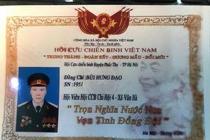 Cựu chiến binh đội đơn khẩn thiết kêu oan cho con trai