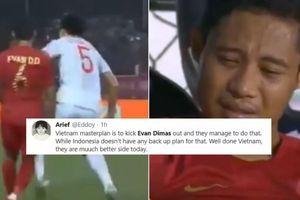 Người hâm mộ Indonesia cáo buộc Việt Nam có chiến thuật bẩn để giành huy chương vàng bóng đá SEA Games