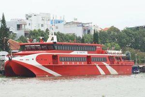 Thời tiết xấu, tàu cao tốc Cần Thơ-Trần Đề-Côn Đảo tạm ngưng hoạt động