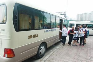 Xử lý 39 phương tiện vận chuyển học sinh vi phạm tại Hà Nội