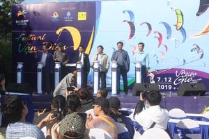 Festival lướt ván diều Quốc tế tại biển Ninh Thuận