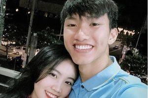 Văn Hậu nhanh chóng gặp bạn gái ngay sau khi U22 Việt Nam vô địch bóng đá nam SEA Games 30