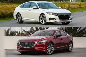 Cuộc chiến phân khúc sedan hạng D tháng 11: Honda Accord 'đe dọa' ngôi vị Mazda6