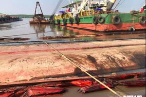 3 thợ lặn mất tích khi trục vớt tàu chìm ở Cần Giờ: Tìm thấy thi thể đầu tiên