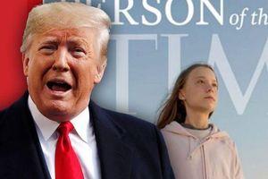 TT Trump đá xoáy Greta Thunberg được Time chọn là nhân vật của năm