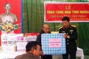 Bộ CHQS tỉnh Thái Bình bàn giao nhà tình nghĩa tặng đối tượng chính sách