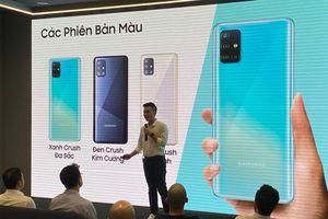 Galaxy A51 chuyên chụp macro giá 7,9 triệu đồng