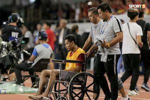 Bất ngờ kết quả kiểm tra của cầu thủ Evan Dimas tuyển U22 Indonesia sau va chạm với Đoàn Văn Hậu