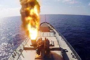 Cận cảnh tên lửa lừng danh Kalibr của Nga xóa sổ mục tiêu trong 'chớp mắt'