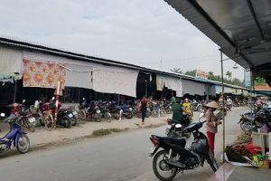 Bến Tre: Bể hụi gần 12 tỉ đồng, một chợ quê nghèo 'tan tác'