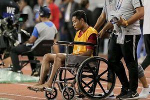 Liên đoàn bóng đá Indonesia thông tin về tình trạng chấn thương của Evan Dimas