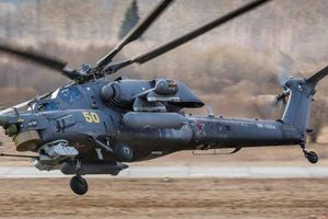 Trực thăng 'Thợ săn đêm' Mi-28 của Nga rơi ở vùng Krasnodar