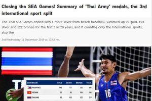 Báo Thái Lan thất vọng khi để Việt Nam vượt mặt ở SEA Games 30